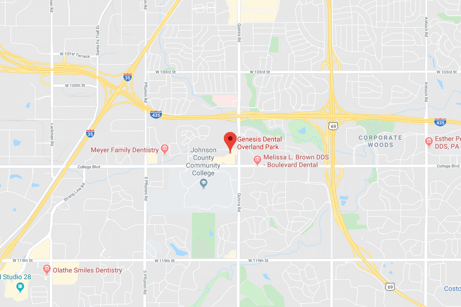 Map of Overland Park, KS Location