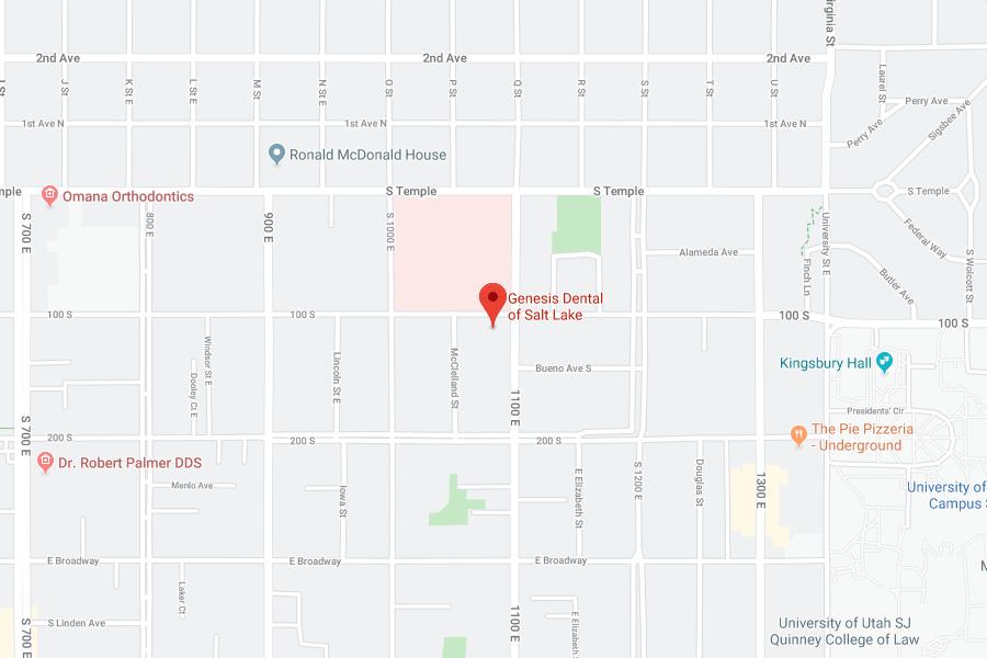 Map of Salt Lake City, UT Location