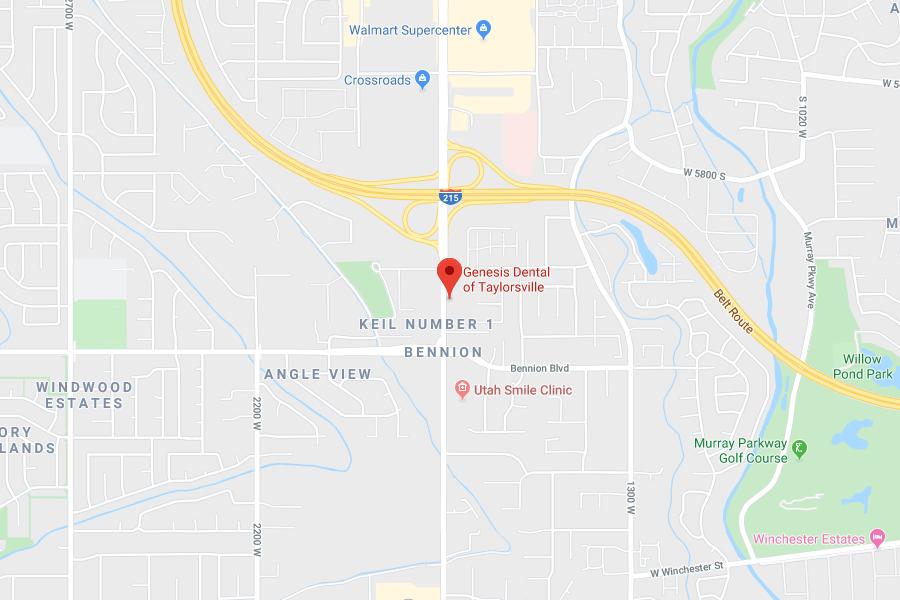 Map of Taylorsville, UT Location